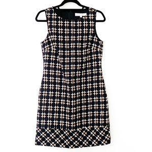 Trina Turk Sleeveless Tweed Dress